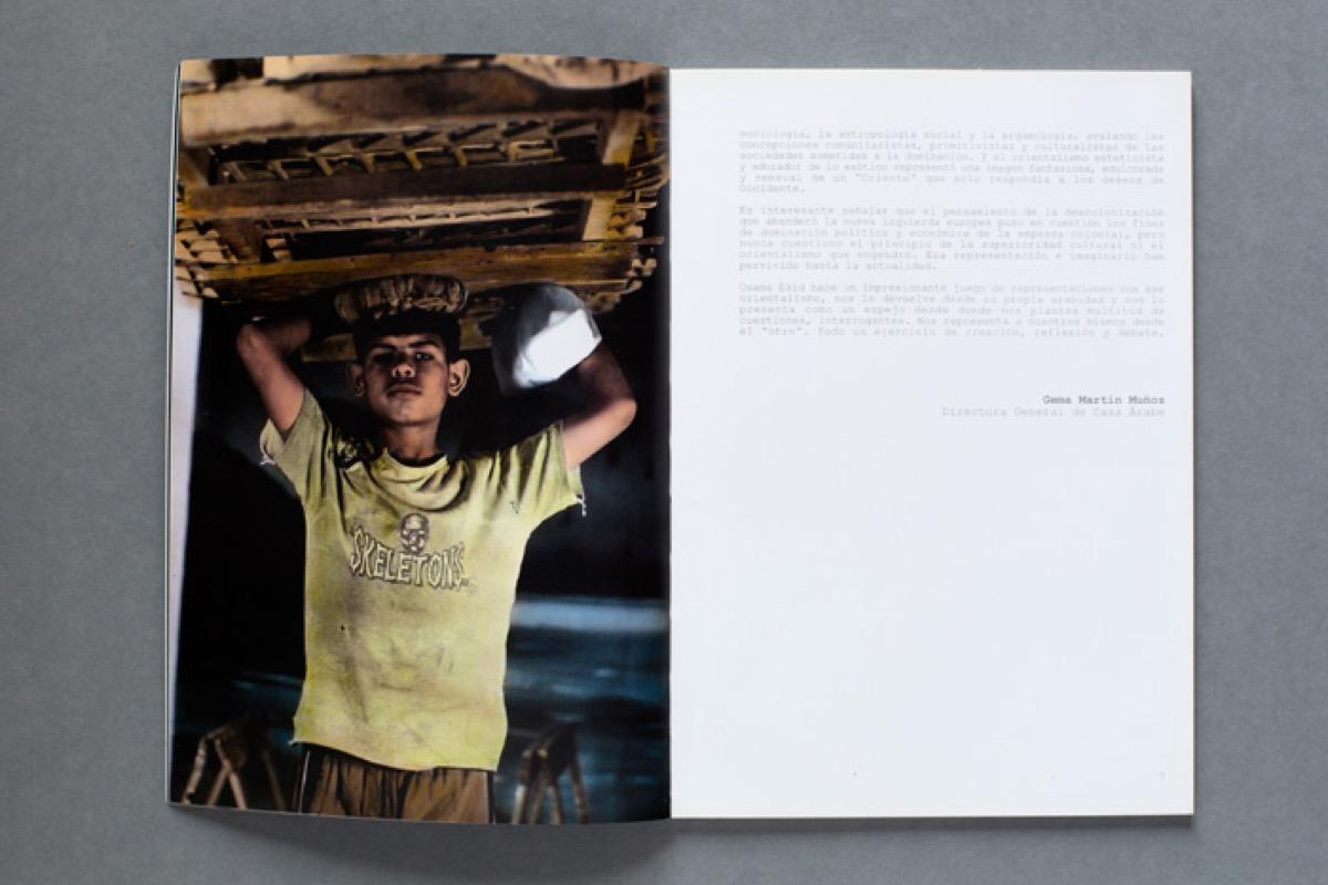 Osama Esid - Juego de representaciones - Publicacion - 02
